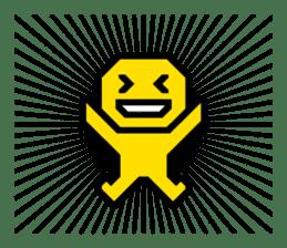 Pictogram 1   DOTMAN 1.0 sticker #250690