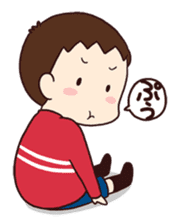 poko's family stamp sticker #251574