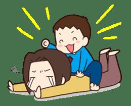 poko's family stamp sticker #251585