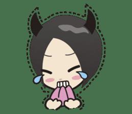Cute little devils sticker #252429