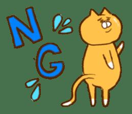 Cat san sticker #255838