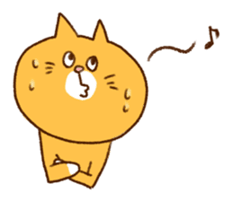 Cat san sticker #255840