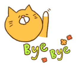 Cat san sticker #255841