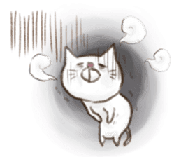 Cat san sticker #255852