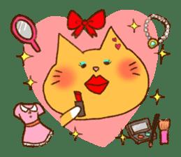 Cat san sticker #255854