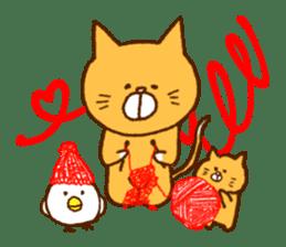 Cat san sticker #255855