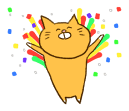 Cat san sticker #255860
