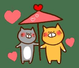 Cat san sticker #255861
