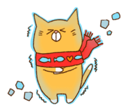 Cat san sticker #255867
