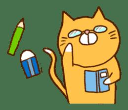 Cat san sticker #255870