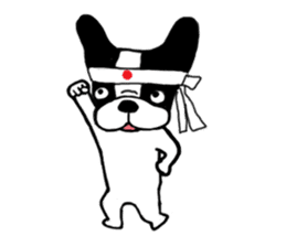 frenchbulldog P-chan sticker #258839