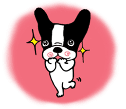 frenchbulldog P-chan sticker #258840