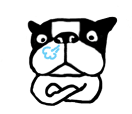 frenchbulldog P-chan sticker #258844