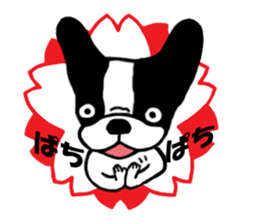 frenchbulldog P-chan sticker #258851