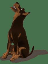 BILLY the dog sticker #258950