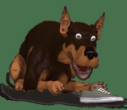 BILLY the dog sticker #258952