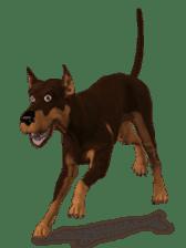 BILLY the dog sticker #258954