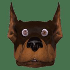BILLY the dog sticker #258955