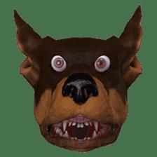 BILLY the dog sticker #258956