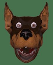 BILLY the dog sticker #258957