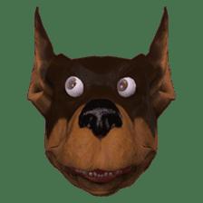 BILLY the dog sticker #258960