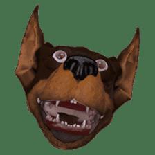 BILLY the dog sticker #258961