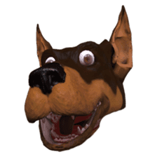 BILLY the dog sticker #258962
