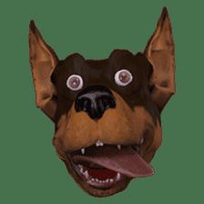 BILLY the dog sticker #258964