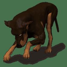 BILLY the dog sticker #258967