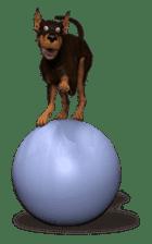 BILLY the dog sticker #258968