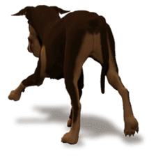 BILLY the dog sticker #258973
