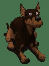 BILLY the dog sticker #258976