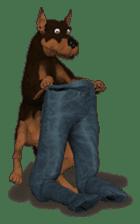 BILLY the dog sticker #258977