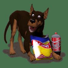 BILLY the dog sticker #258981