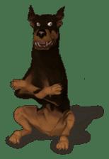 BILLY the dog sticker #258983