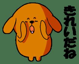 ANJI DOG sticker #259161