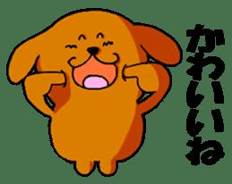 ANJI DOG sticker #259162