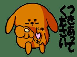 ANJI DOG sticker #259165