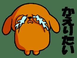 ANJI DOG sticker #259172