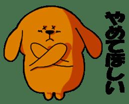 ANJI DOG sticker #259173