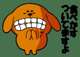 ANJI DOG sticker #259179
