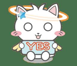 Angel Cat sticker #259945