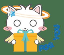 Angel Cat sticker #259949
