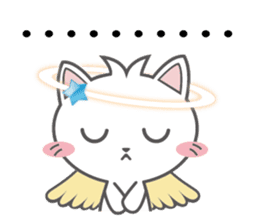 Angel Cat sticker #259957