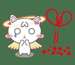Angel Cat sticker #259958