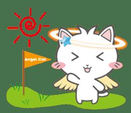 Angel Cat sticker #259961