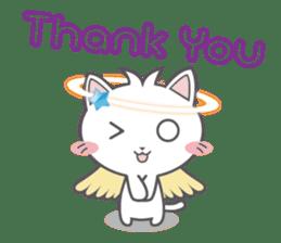 Angel Cat sticker #259969