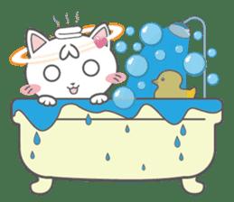 Angel Cat sticker #259970