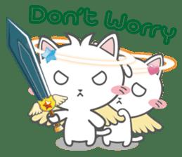 Angel Cat sticker #259974