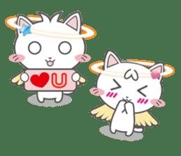 Angel Cat sticker #259976